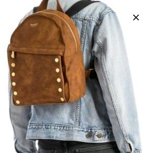 Hammitt Backpack Cognac Brown Arches Purse Studs
